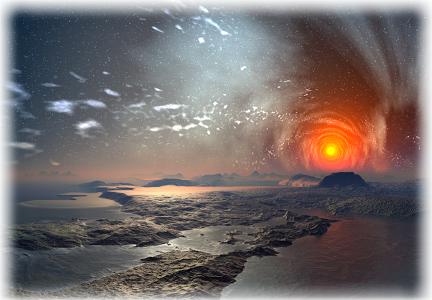 extrasolar planets circumstellar habitable zone artists impression
